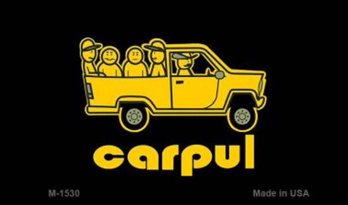 Carpul Novelty Metal Magnet M-1530