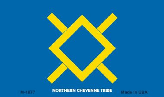 Northern Cheyenne Tribe Novelty Metal Magnet M-1877