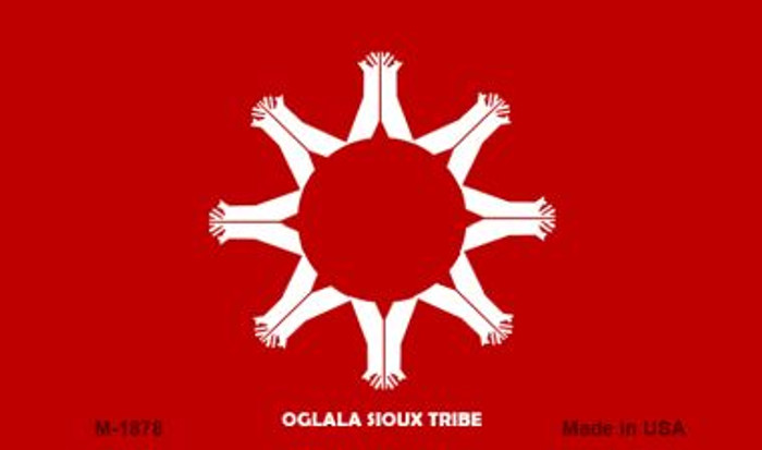 Oglala Sioux Tribe Novelty Metal Magnet M-1878
