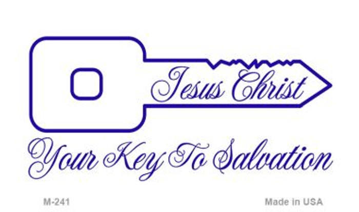 Jesus Christ Key To Salvation Novelty Metal Magnet M-241