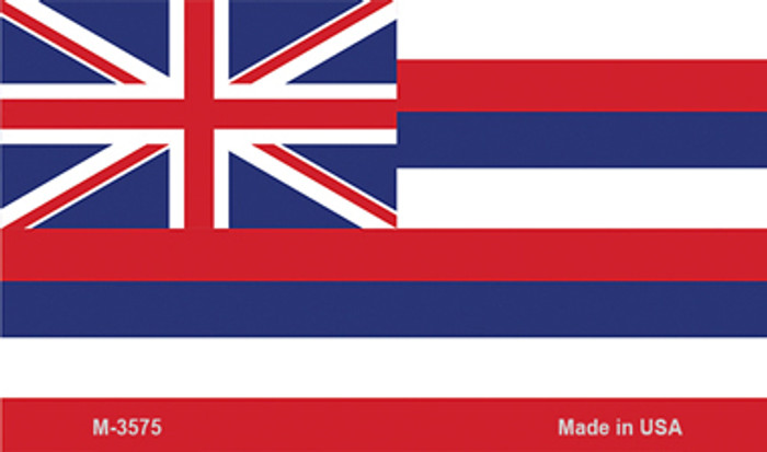 Hawaii State Flag Novelty Metal Magnet M-3575