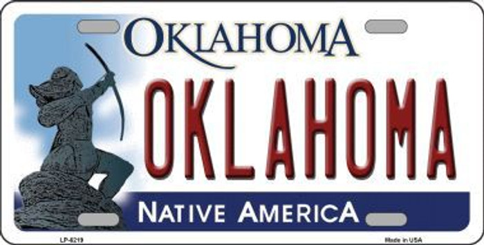 Oklahoma Novelty Metal License Plate LP-6219