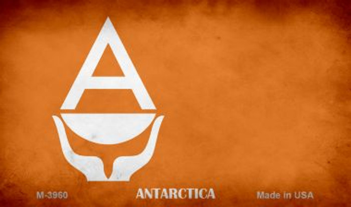 Antarctica Flag Novelty Metal Magnet M-3960