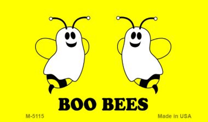 Boo Bees Novelty Metal Magnet M-5115