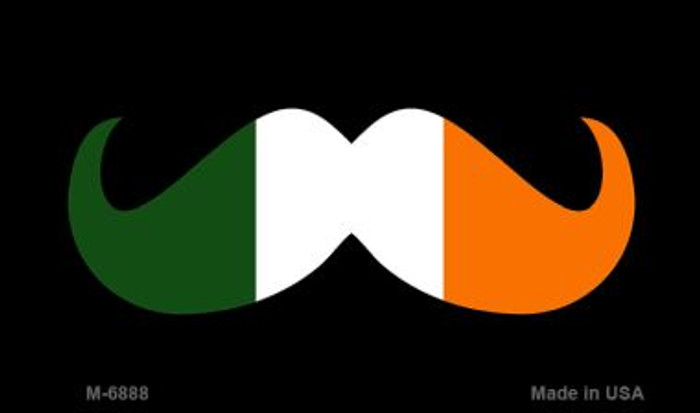 Irish Mustache Novelty Metal Magnet M-6888
