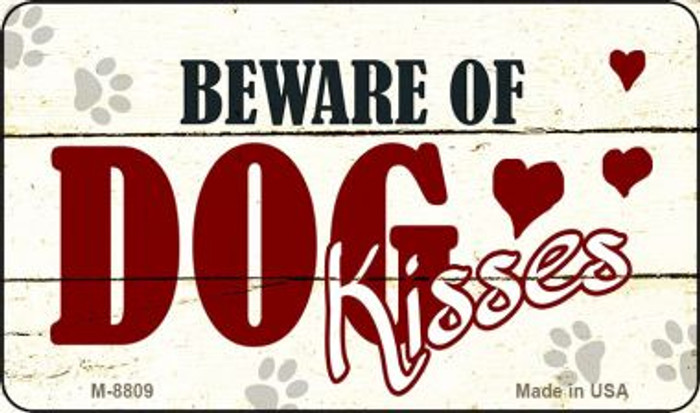 Beware of Dogs Novelty Metal Magnet M-8809