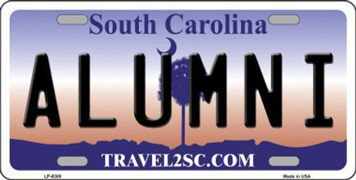 Alumni South Carolina Novelty Metal License Plate LP-6308