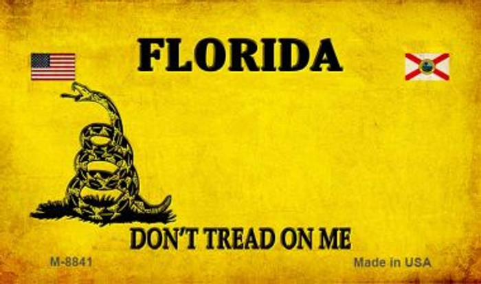 Florida Do Not Tread Novelty Metal Magnet M-8841