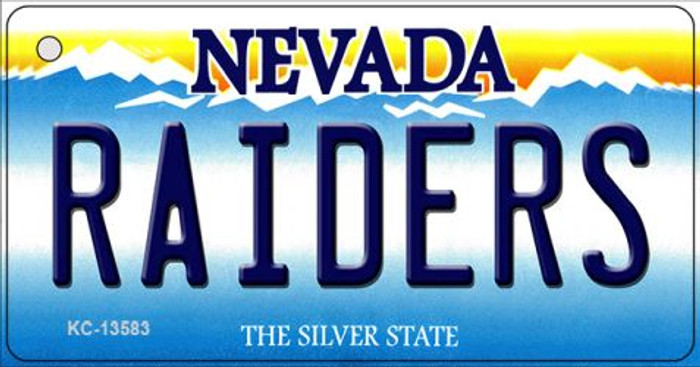 Raiders Nevada Novelty Metal Key Chain KC-13583