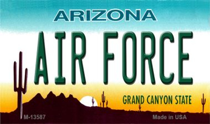 Air Force Arizona Novelty Metal Magnet M-13587