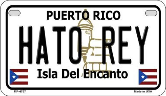 Hato Rey Puerto Rico Novelty Metal Motorcycle Plate MP-4767