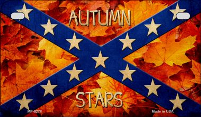 Autumn Stars Novelty Metal Motorcycle Plate MP-8276