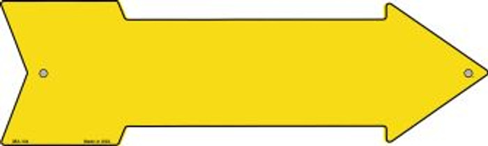 Yellow Solid Novelty Mini Metal Arrow MA-104