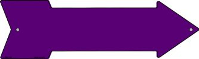 Purple Solid Novelty Mini Metal Arrow MA-108