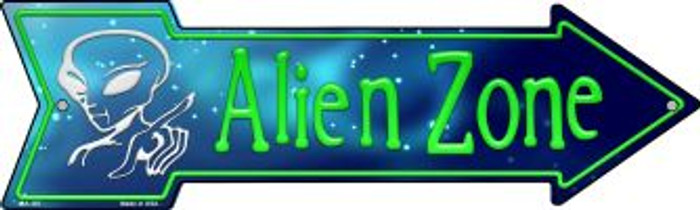 Alien Zone Novelty Mini Metal Arrow MA-187