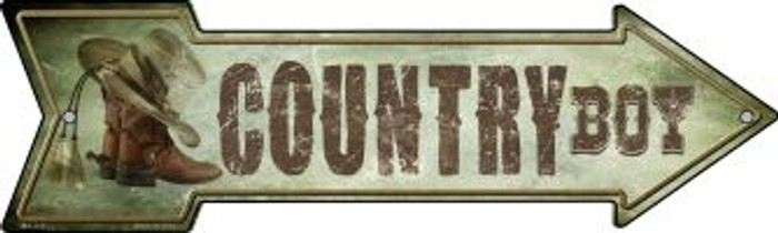 Country Boy Novelty Mini Metal Arrow MA-249