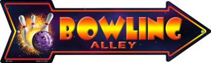Bowling Alley Novelty Mini Metal Arrow MA-263