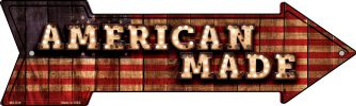 American Made Bulb Letters Novelty Mini Metal Arrow MA-636