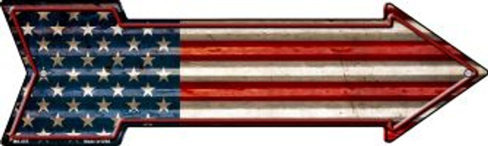 American Flag Novelty Mini Metal Arrow MA-655