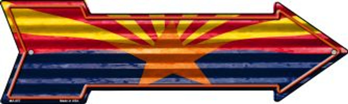 Arizona Flag Novelty Mini Metal Arrow MA-657