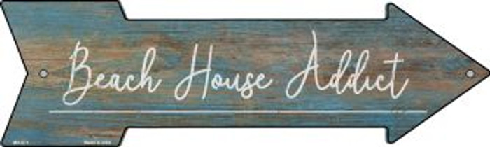 Beach House Addict Novelty Mini Metal Arrow MA-671
