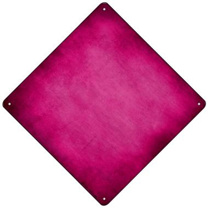 Pink Oil Rubbed Novelty Mini Metal Crossing Sign MCX-003
