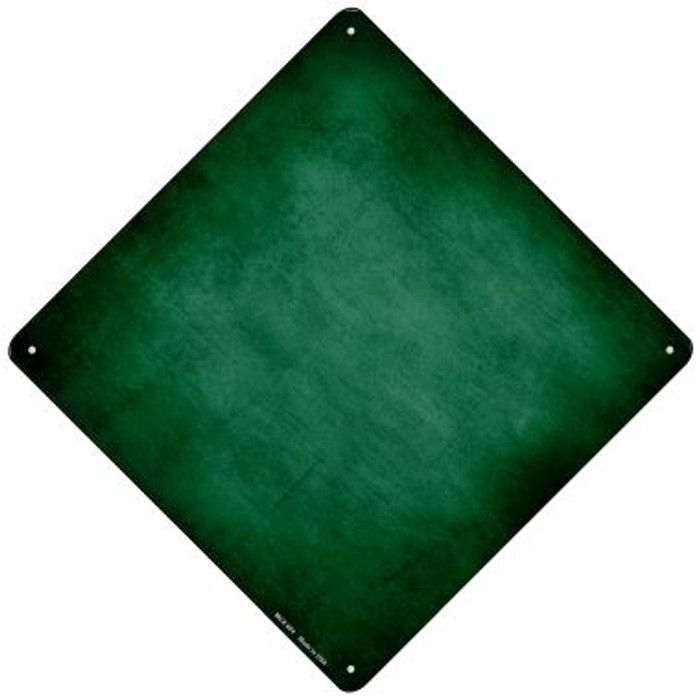 Green Oil Rubbed Novelty Mini Metal Crossing Sign MCX-004