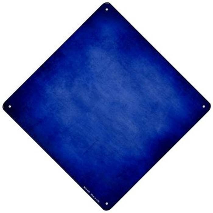 Blue Oil Rubbed Novelty Mini Metal Crossing Sign MCX-005
