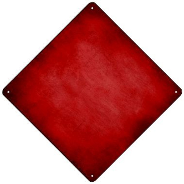Red Oil Rubbed Novelty Mini Metal Crossing Sign MCX-008