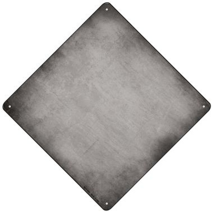 Gray Oil Rubbed Novelty Mini Metal Crossing Sign MCX-009