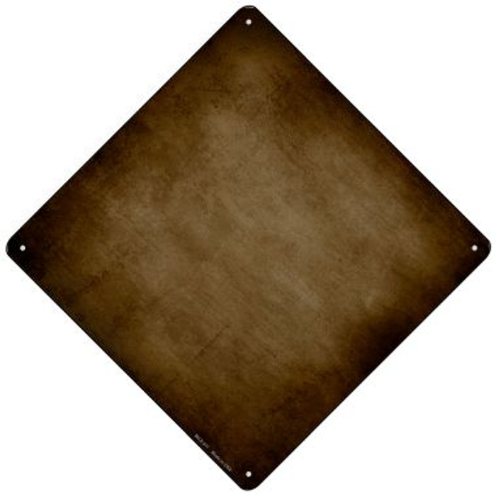 Brown Oil Rubbed Novelty Mini Metal Crossing Sign MCX-011