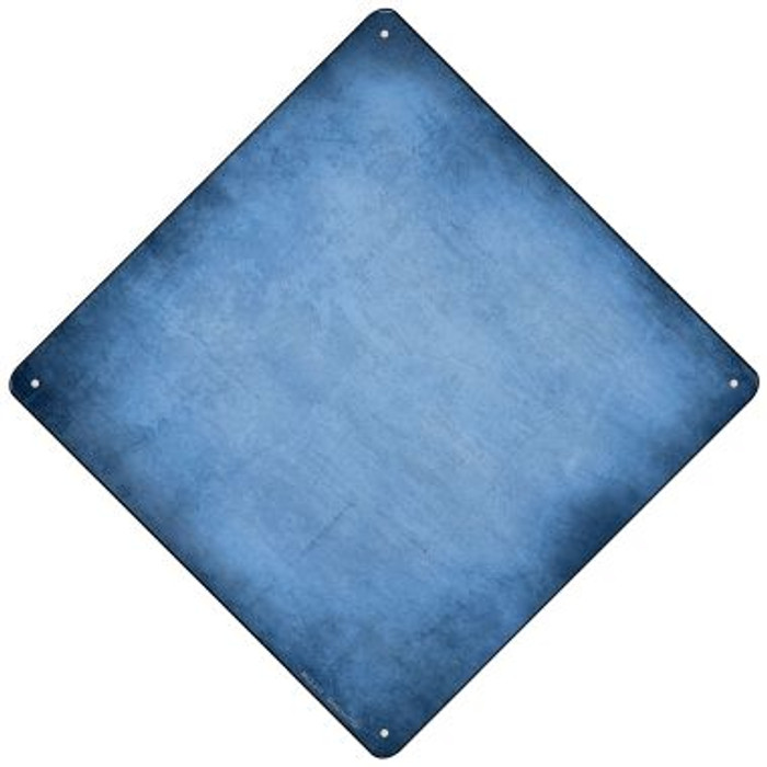 Light Blue Oil Rubbed Novelty Mini Metal Crossing Sign MCX-012