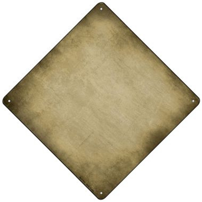 Gold Oil Rubbed Novelty Mini Metal Crossing Sign MCX-015