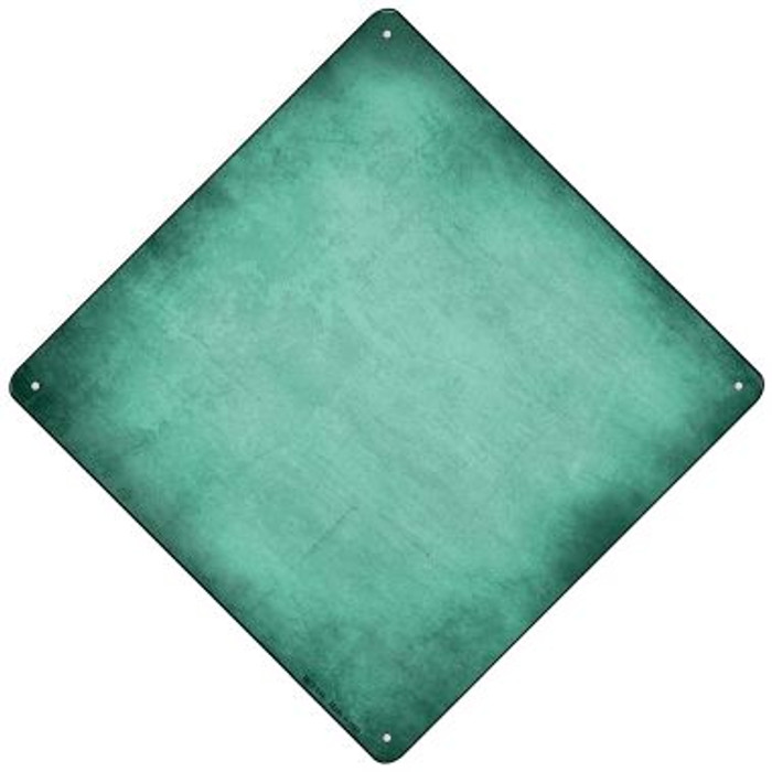 Mint Oil Rubbed Novelty Mini Metal Crossing Sign MCX-016