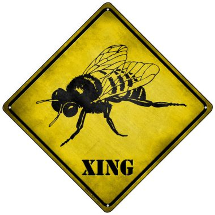 Bee Xing Novelty Mini Metal Crossing Sign MCX-311