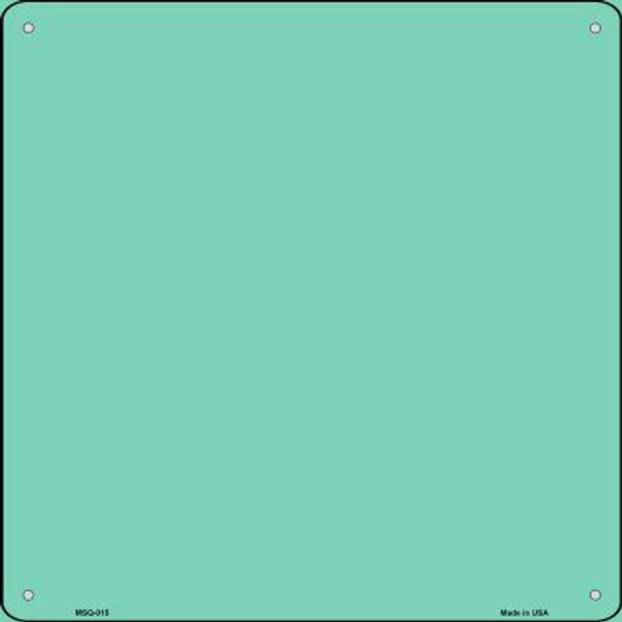 Mint Solid Novelty Mini Metal Square MSQ-015