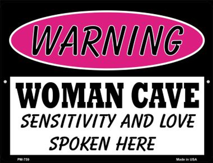 Sensitivity And Love Novelty Mini Metal Parking Sign PM-759