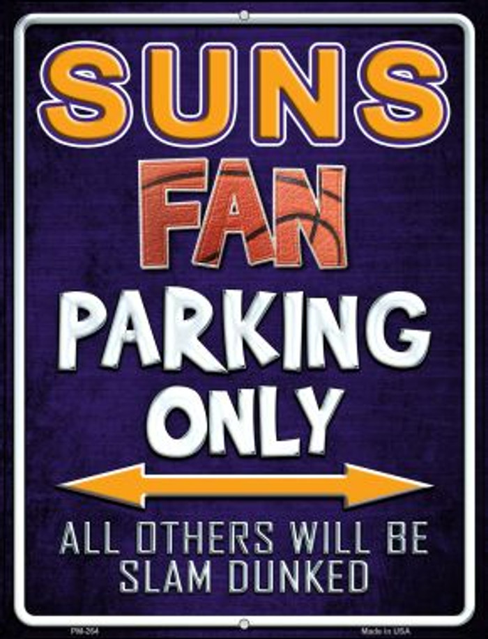 Suns Novelty Mini Metal Parking Sign PM-264