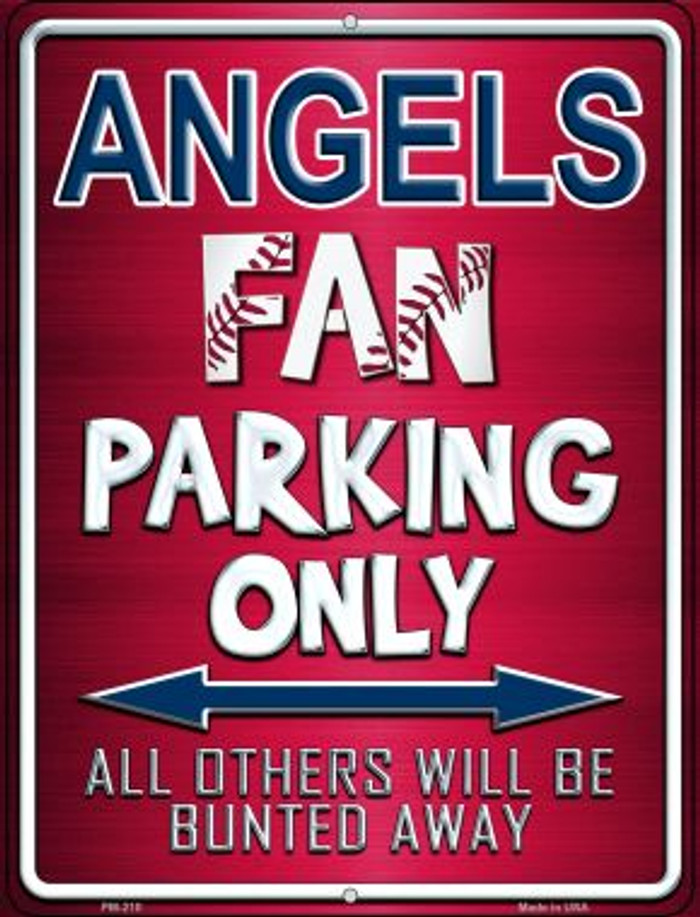 Angels Novelty Mini Metal Parking Sign PM-210