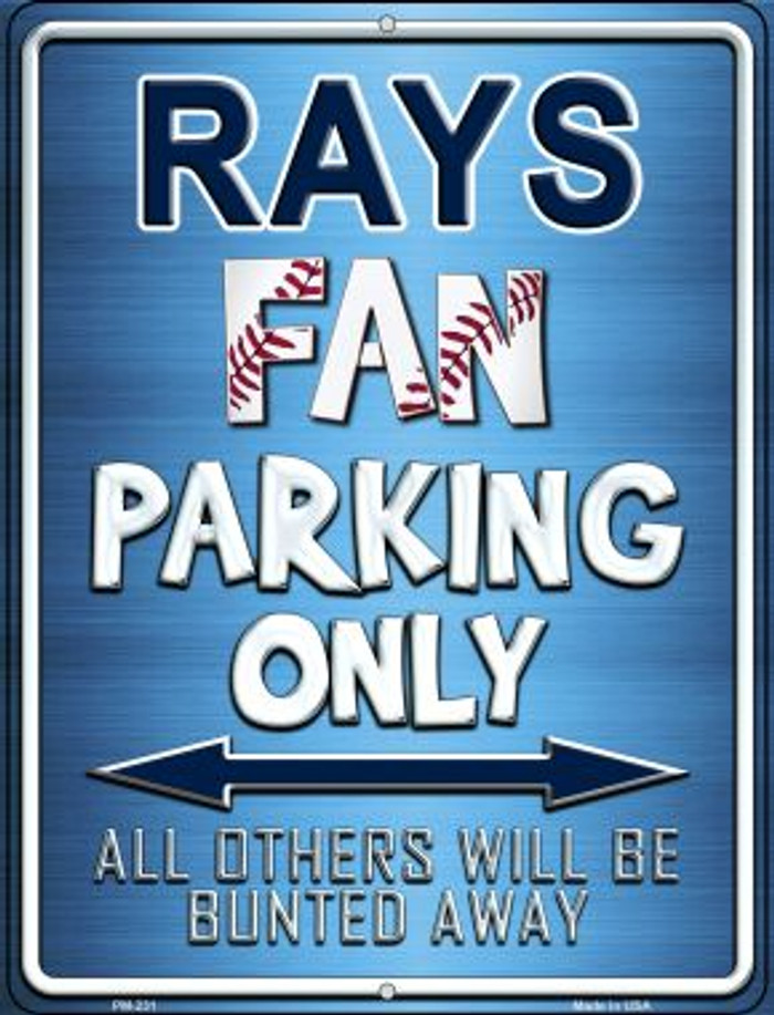 Rays Novelty Mini Metal Parking Sign PM-231