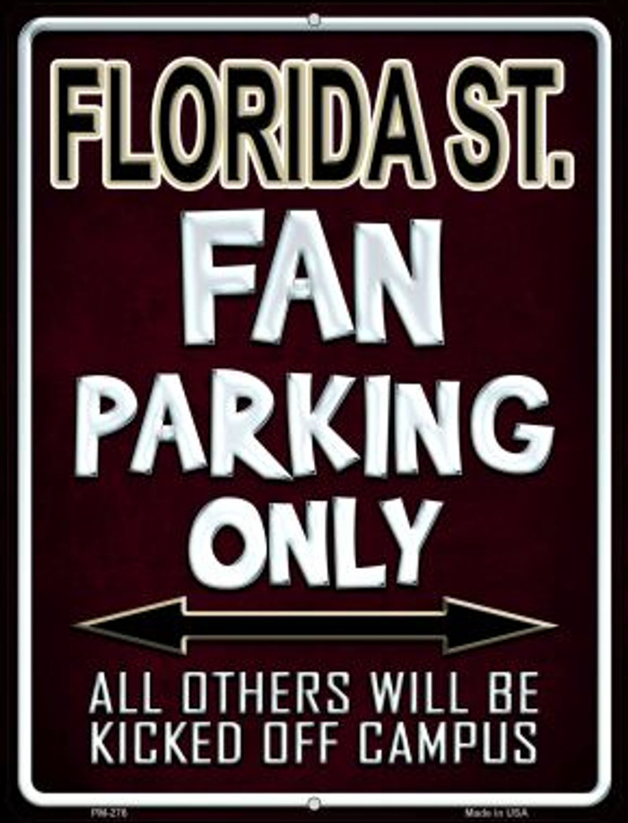 Florida State Novelty Mini Metal Parking Sign PM-276