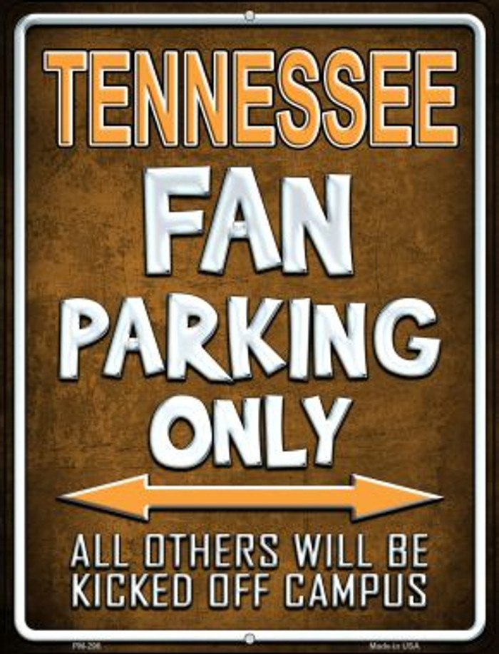 Tennessee Novelty Mini Metal Parking Sign PM-296