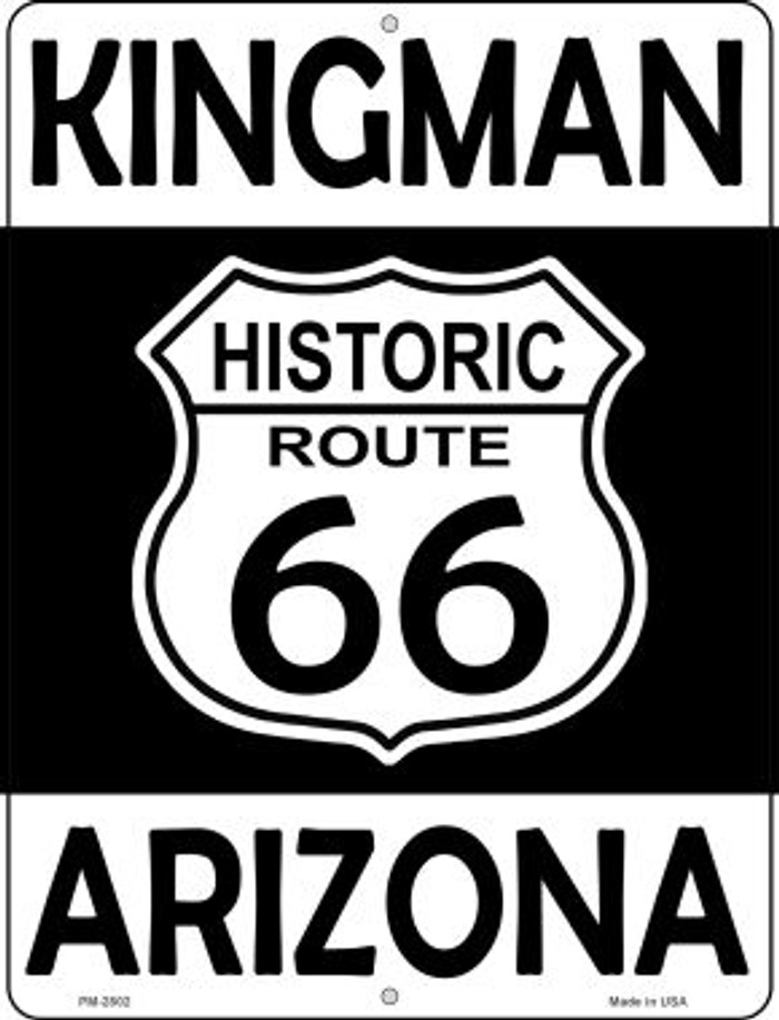 Kingman Arizona Historic Route 66 Novelty Mini Metal Parking Sign PM-2802