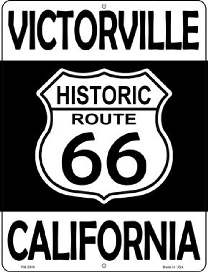 Victorville California Historic Route 66 Novelty Mini Metal Parking Sign PM-2806