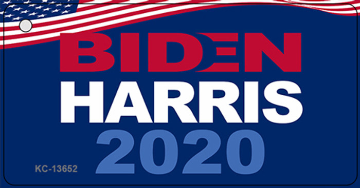 Biden Harris 2020  Novelty Metal Key Chain KC-13652