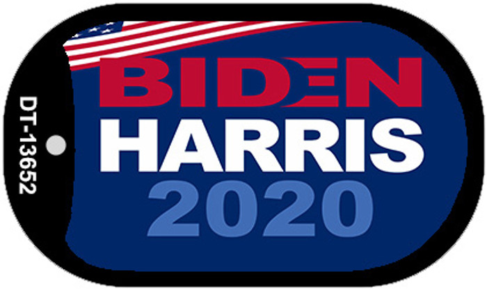Biden Harris 2020  Novelty Metal Dog Tag Necklace DT-13652