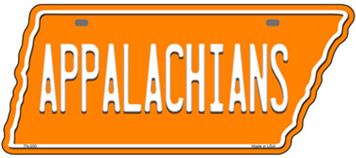 Appalachians Novelty Metal Tennessee License Plate Tag TN-050
