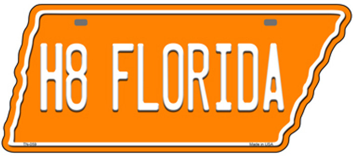 H8 Florida Novelty Metal Tennessee License Plate Tag TN-059