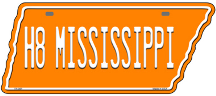 H8 Mississippi Novelty Metal Tennessee License Plate Tag TN-061