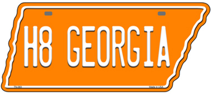 H8 Georgia Novelty Metal Tennessee License Plate Tag TN-063